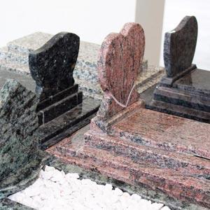 Monuments funéraire de la marbrerie